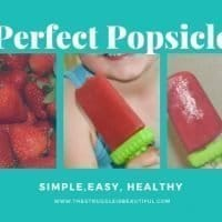 All-Natural Fruit Popsicle
