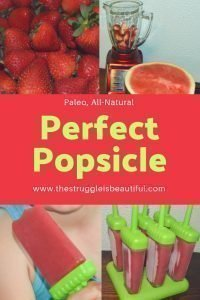 100% Fruit Popsicle Recipe