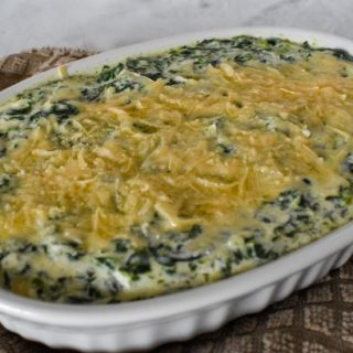 Creamy Low-Carb Spinach Dip