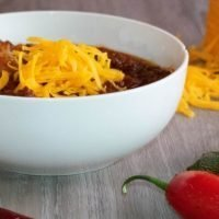 Keto Crockpot Chili