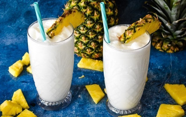 Low-Carb Piña Coladas: Summer Cocktail