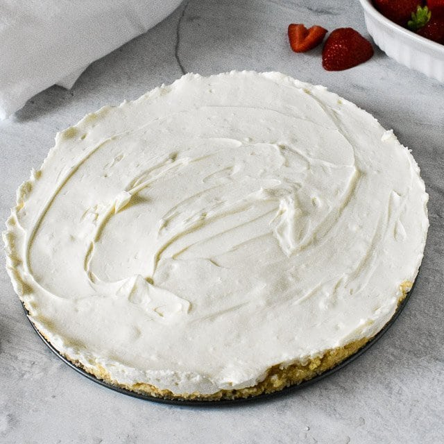 Over-head sugar-free no bake keto cheesecake