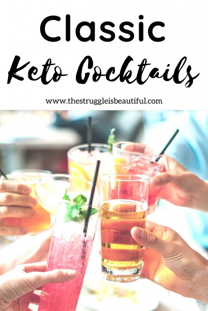 Make a toast with these keto cocktail recipes.