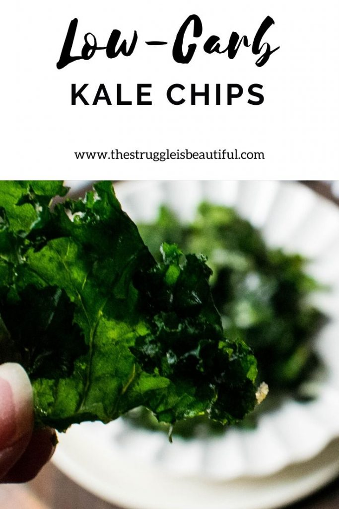 Healthy low-carb Kale Chips