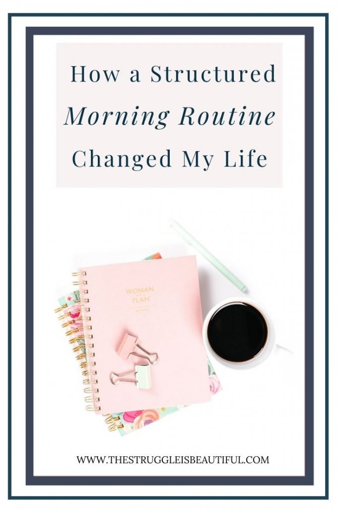How a structured morning routine changed my life.
