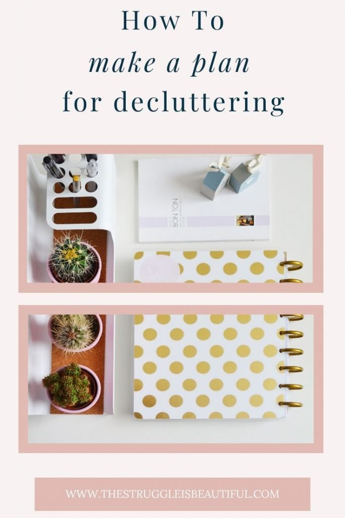 Don't know where to start with  your decluttering project. Use this plan as a guide.