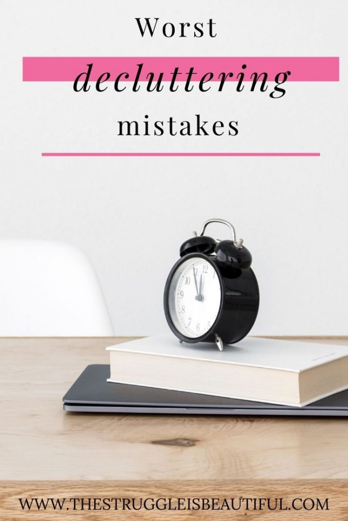 These decluttering mistakes are sabotaging your efforts.
