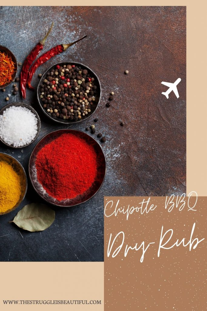 This Chipotle BBQ Dry Rub is great on meats.